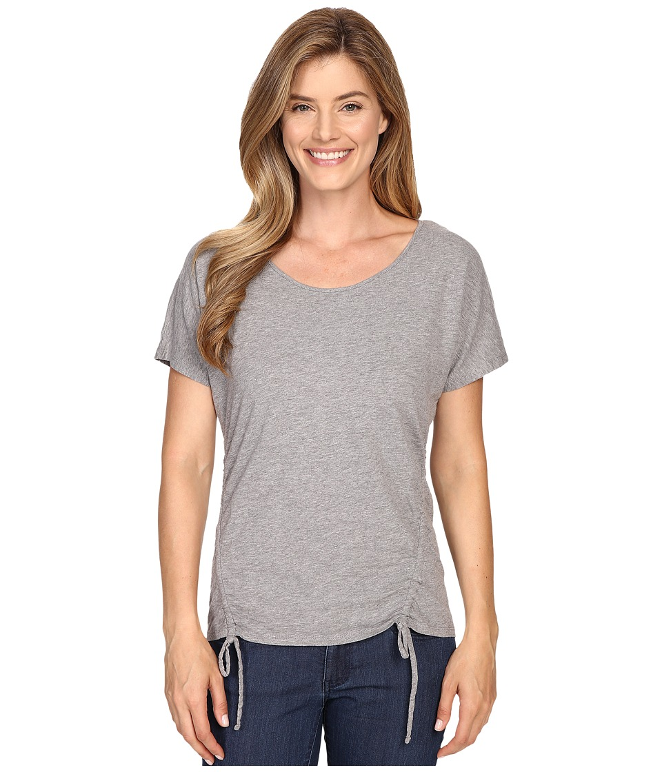 Mountain Khakis - Solitude Short Sleeve Shirt (Heather Grey) Women's Clothing