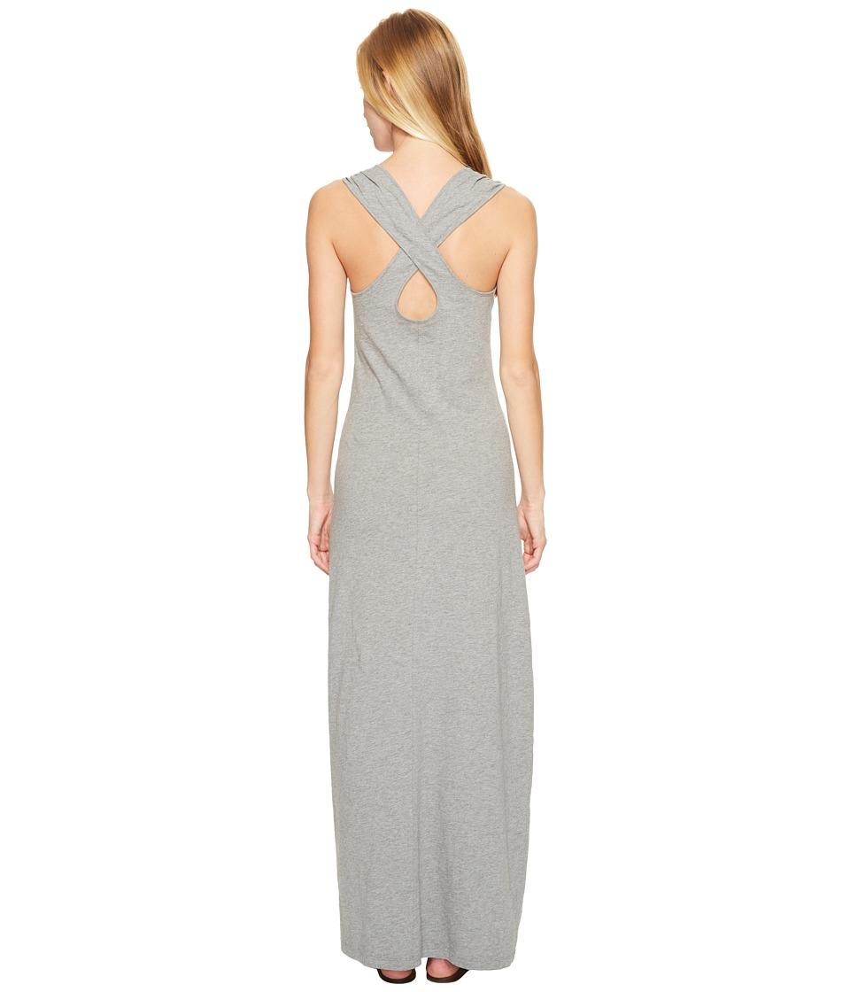 Mountain Khakis Solitude Maxi Dress (Heather Grey) Women