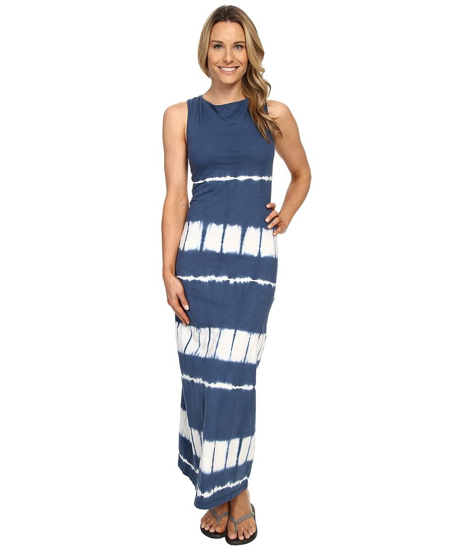 Mountain Khakis - Solitude Maxi Dress (Midnight Blue Tie-Dye) Women's Dress
