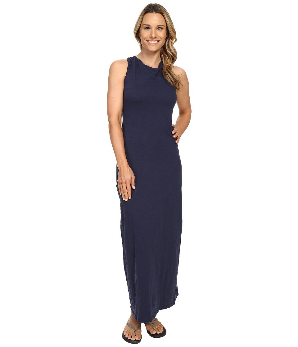 Mountain Khakis Solitude Maxi Dress (Midnight Blue) Women