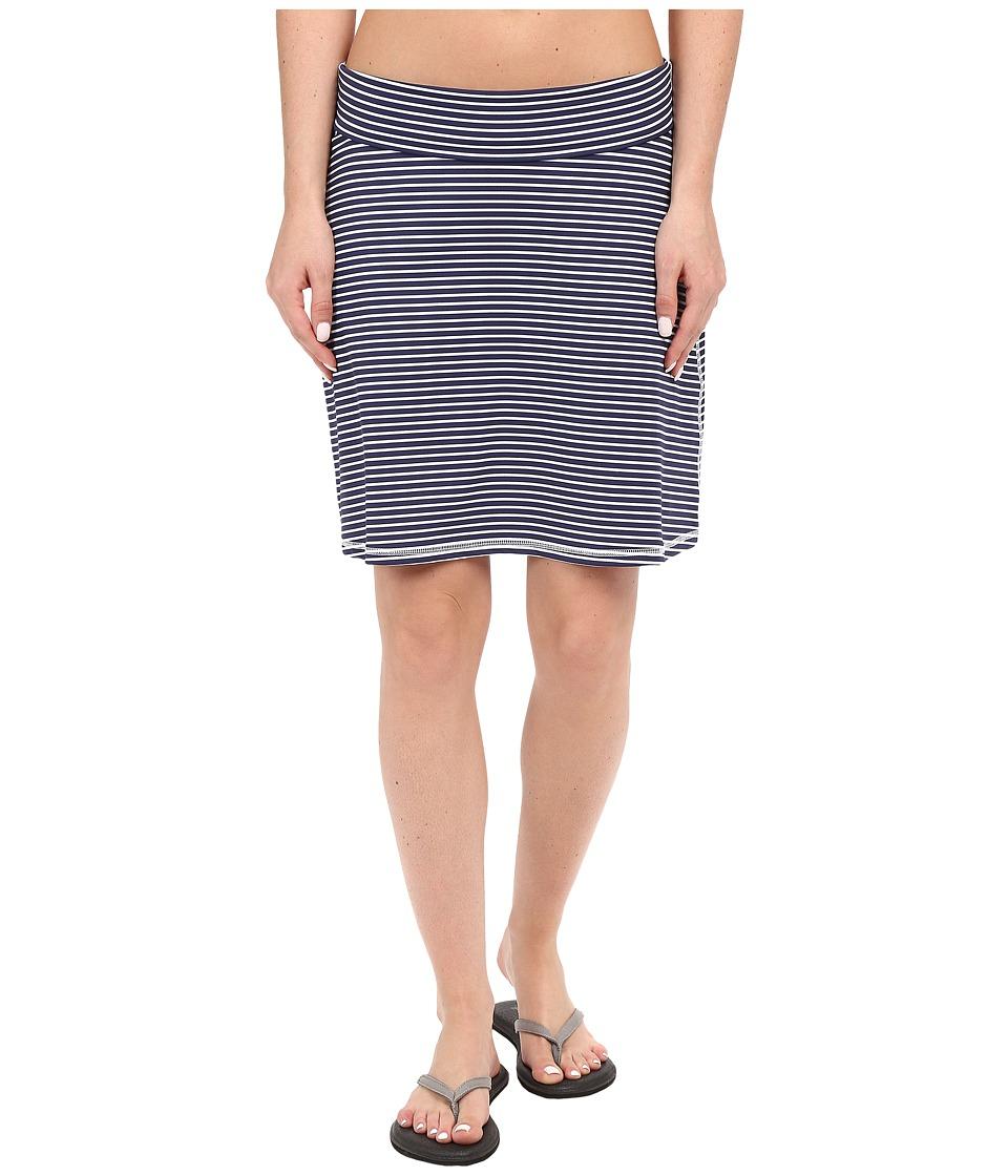 Carve Designs - Seaside Skirt (Anchor Stripe) Women's Skirt