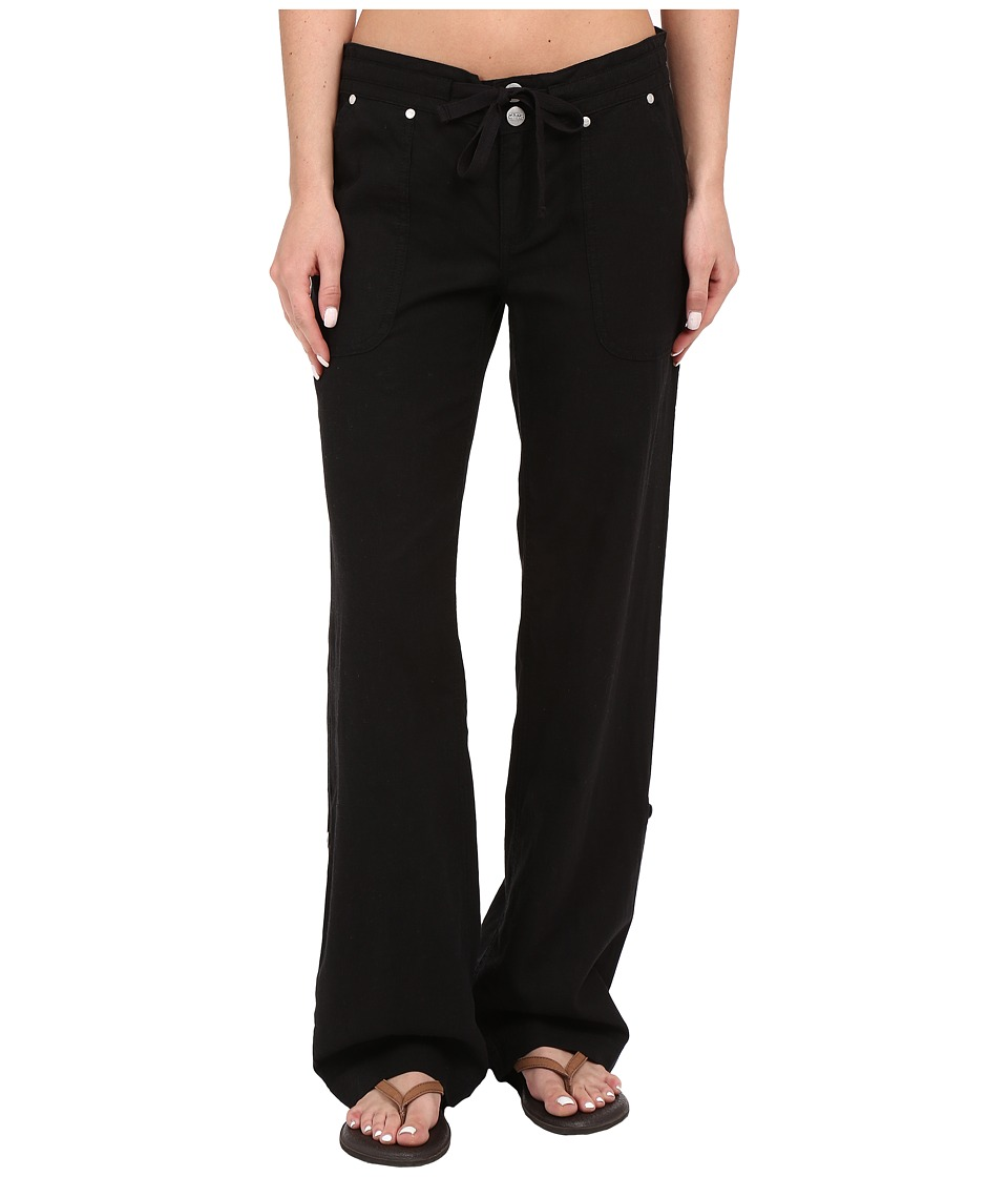 Carve Designs - Kailua Pant (Black) Women's Casual Pants