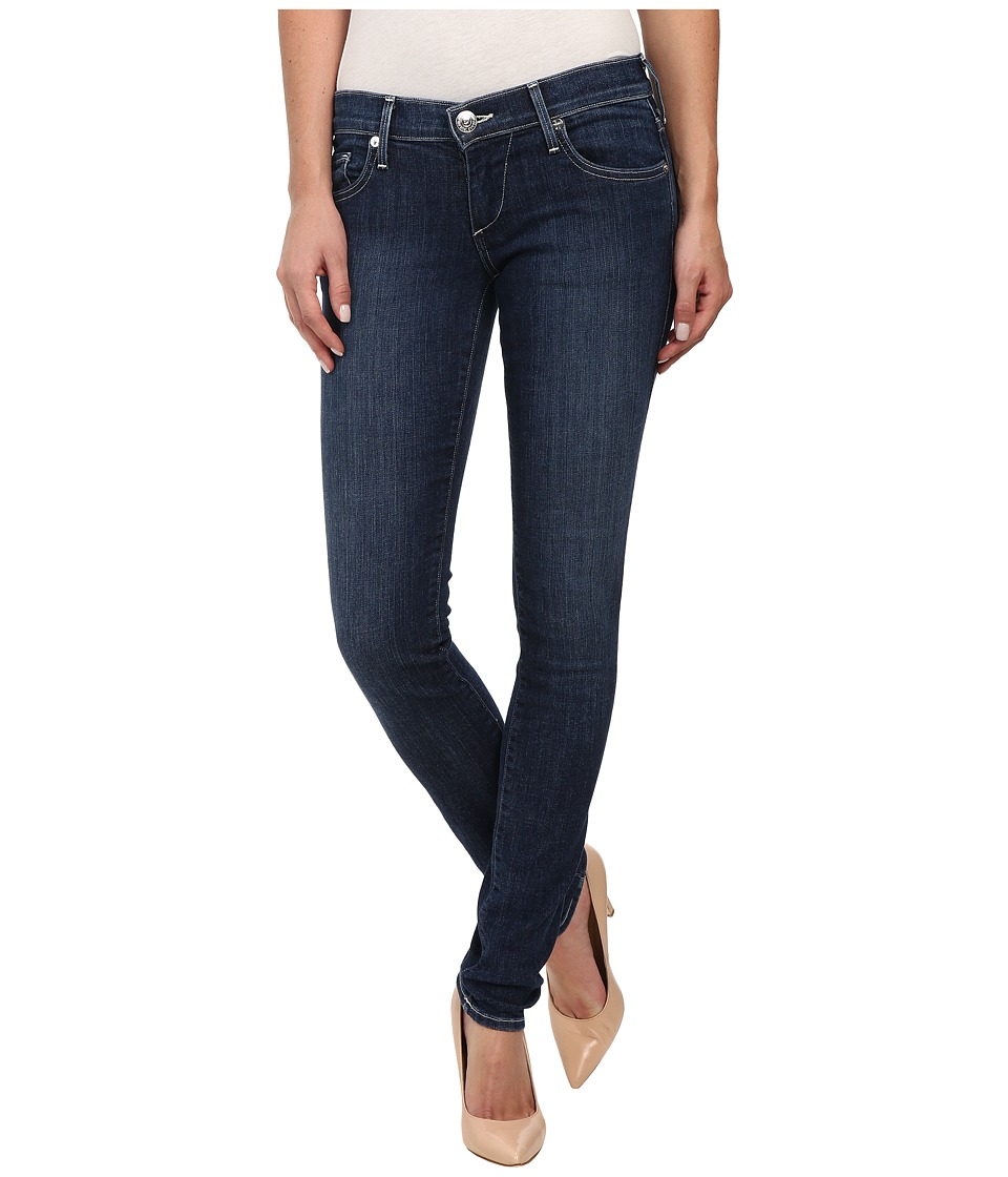 True Religion - Stella Skinny in Clean Inky Blues (Clean Inky Blues) Women's Jeans