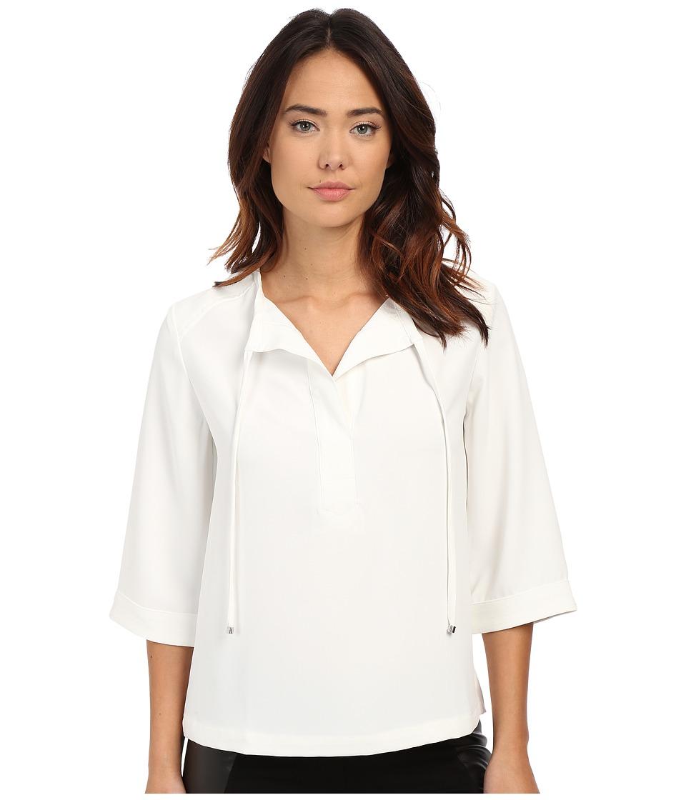 Trina Turk - Sedona Top (Whitewash) Women's Long Sleeve Pullover