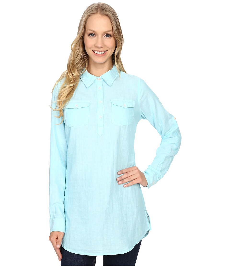 Mountain Khakis - Two Ocean Tunic Shirt (Glacier) Women's Blouse