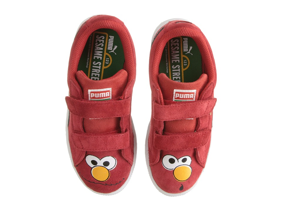 Puma Kids - Suede Sesame Street (Toddler/Little Kid/Big Kid) (Red/Elmo) Kids Shoes