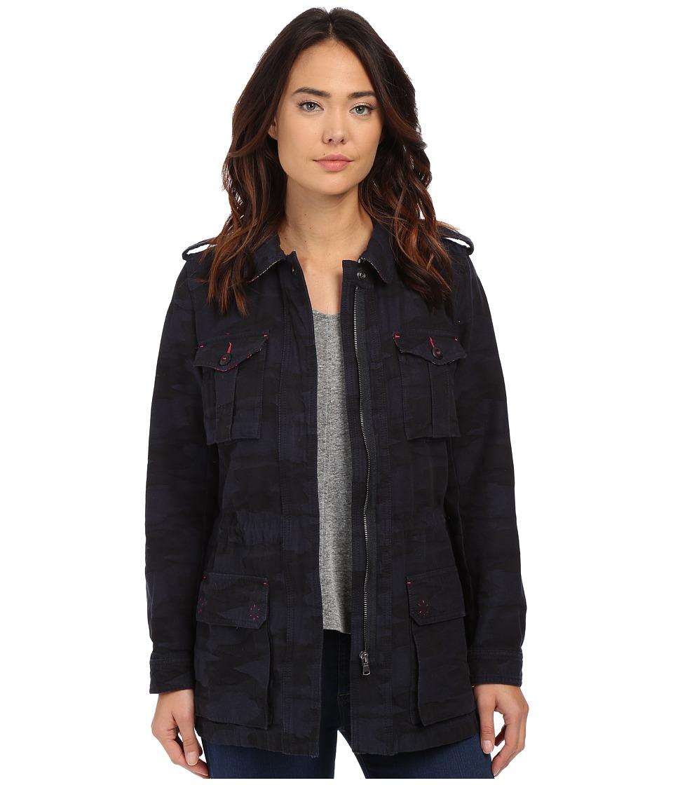 Trina Turk - Micki Jacket (Indigo) Women's Coat