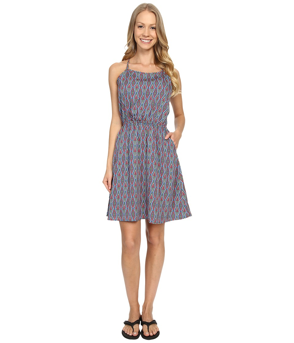 Mountain Khakis Emma Dress (Midnight Blue Print) Women