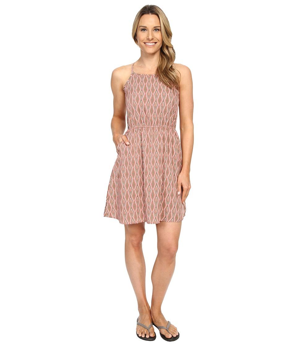 Mountain Khakis - Emma Dress (Lotus Print) Women's Dress
