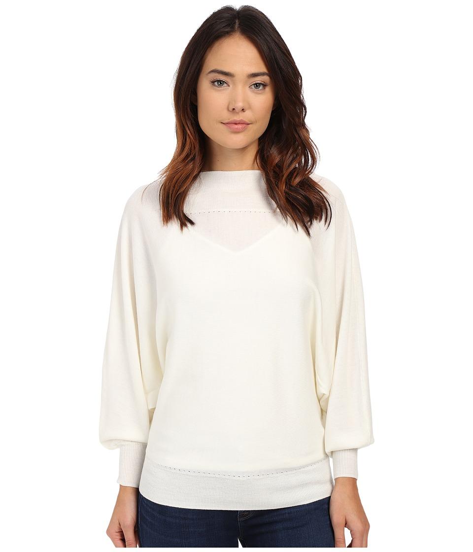 Trina Turk - Halima Sweater (Whitewash) Women's Sweater