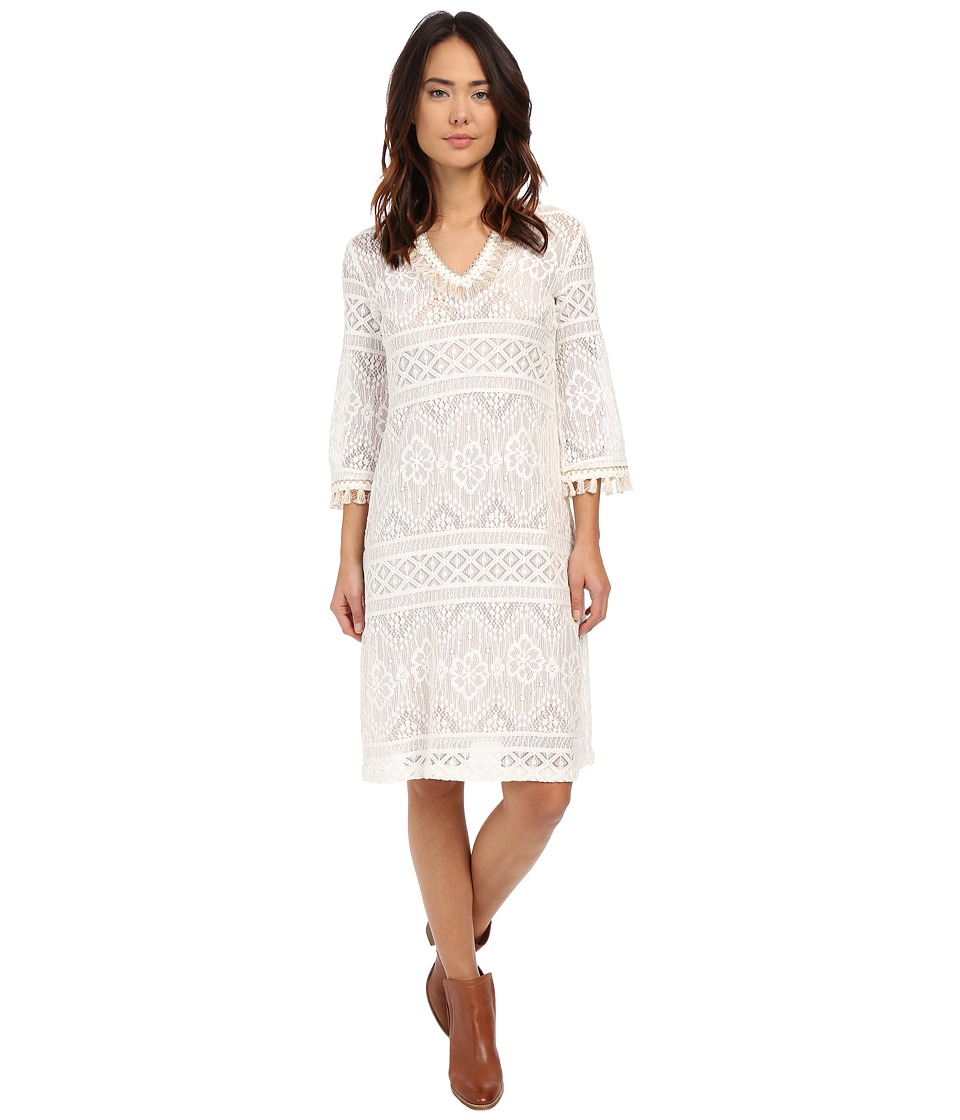 Trina Turk Leilo Dress (Whitewash) Women