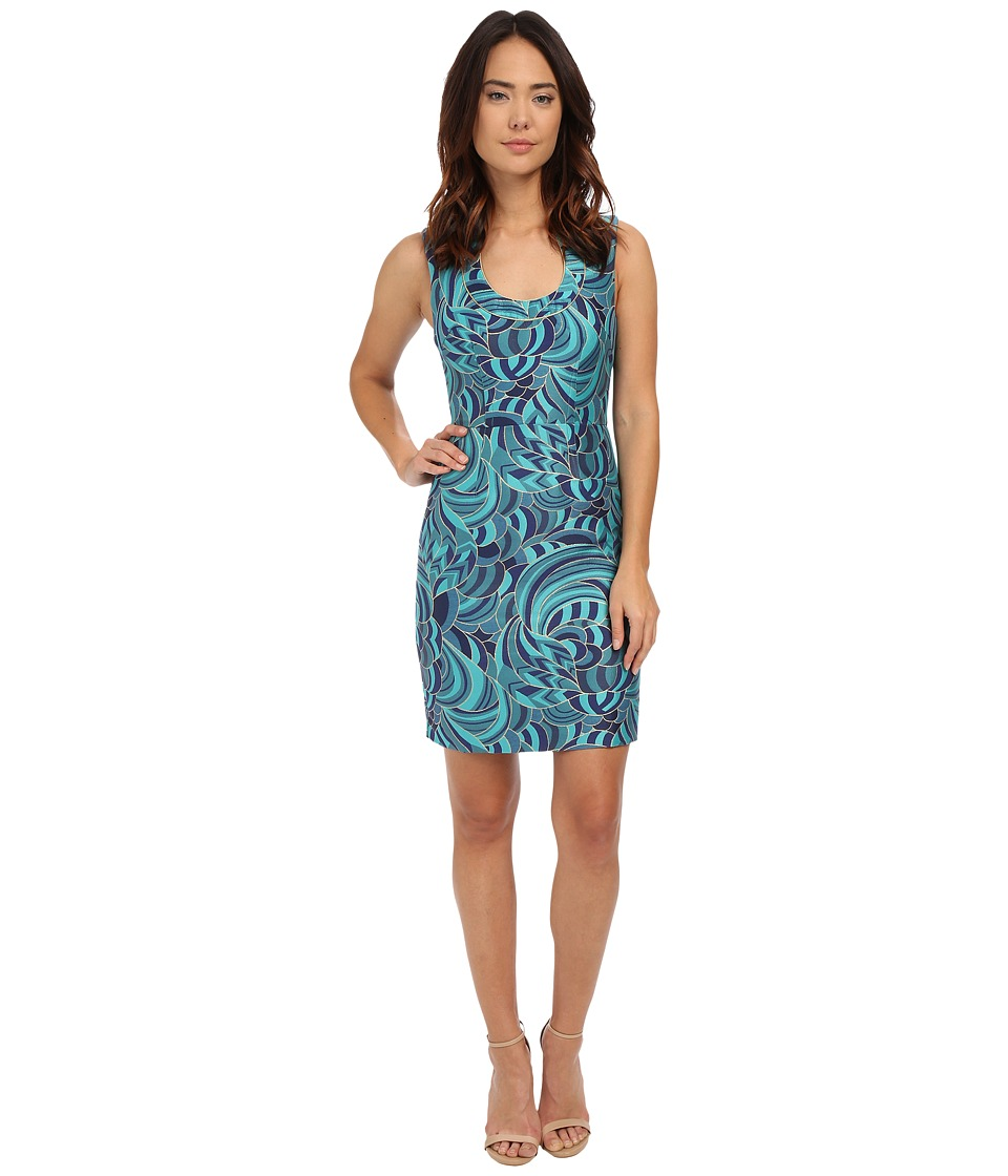 Trina Turk Nash Dress (Blue Lagoon) Women