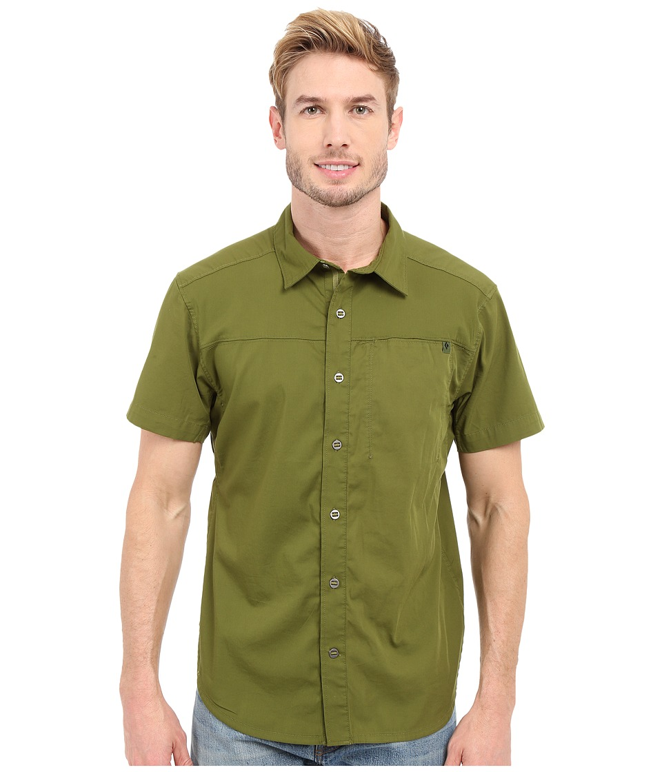 Black Diamond - Short Sleeve Stretch Operator Shirt (Cargo) Men's Clothing