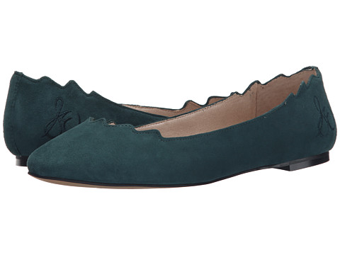 Sam Edelman - Augusta (Winter Teal Kid Suede Leather) Women