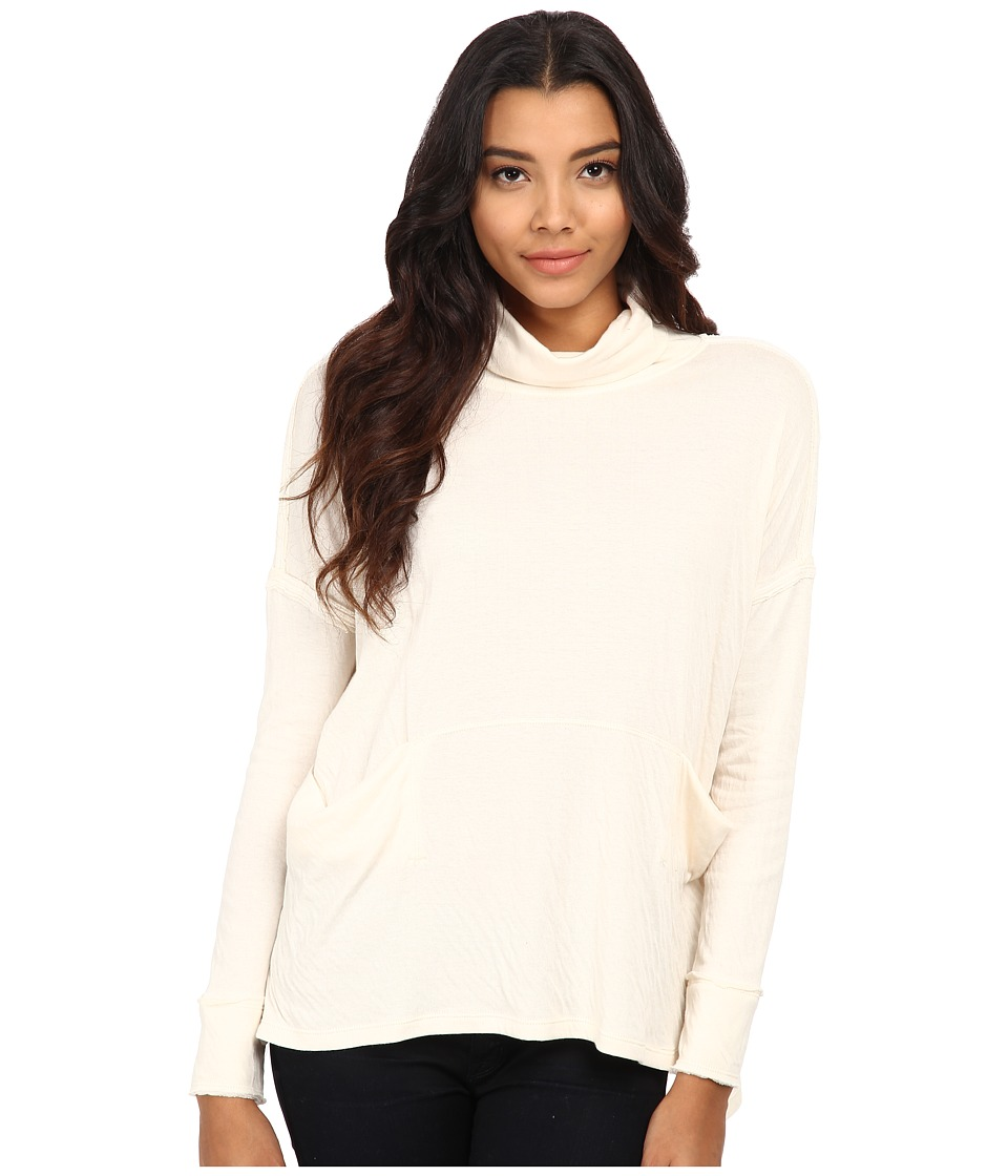Free People - Long Flight Pullover (Vanilla) Women's Sweater