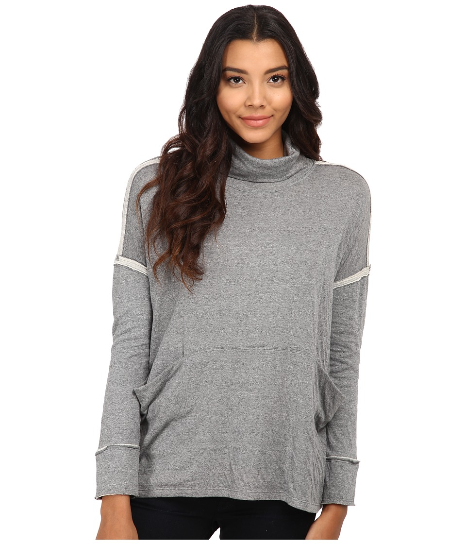 Free People - Long Flight Pullover (Heather Grey) Women