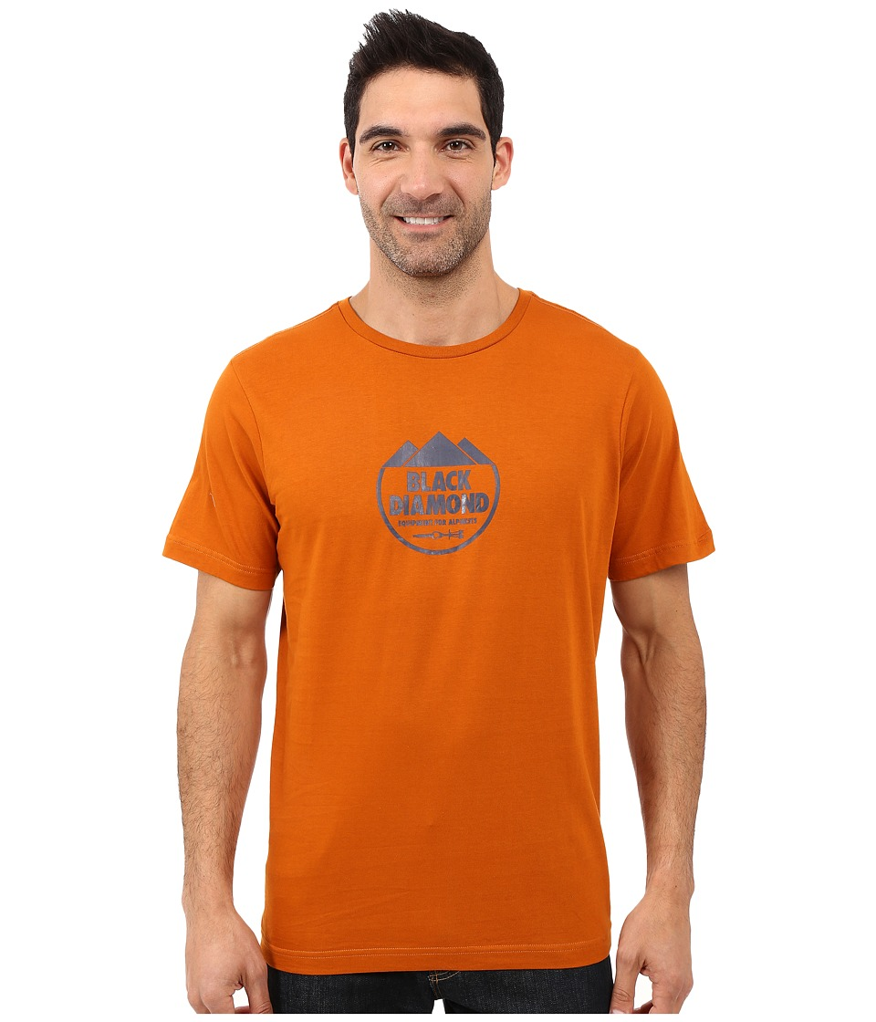 Black Diamond - Short Sleeve Alpinist Crest Tee (Copper) Men's T Shirt