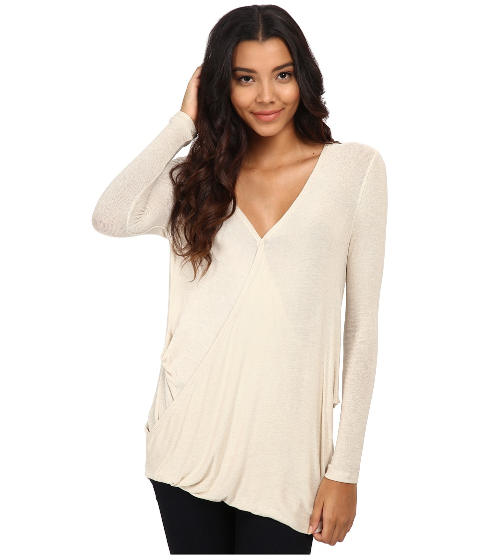 Free People - Miss Rose Blouse (Almond) Women's Blouse