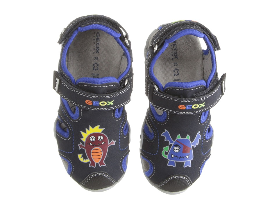 Geox Kids - Baby Kraze 32 (Toddler) (Navy/Royal) Boy's Shoes