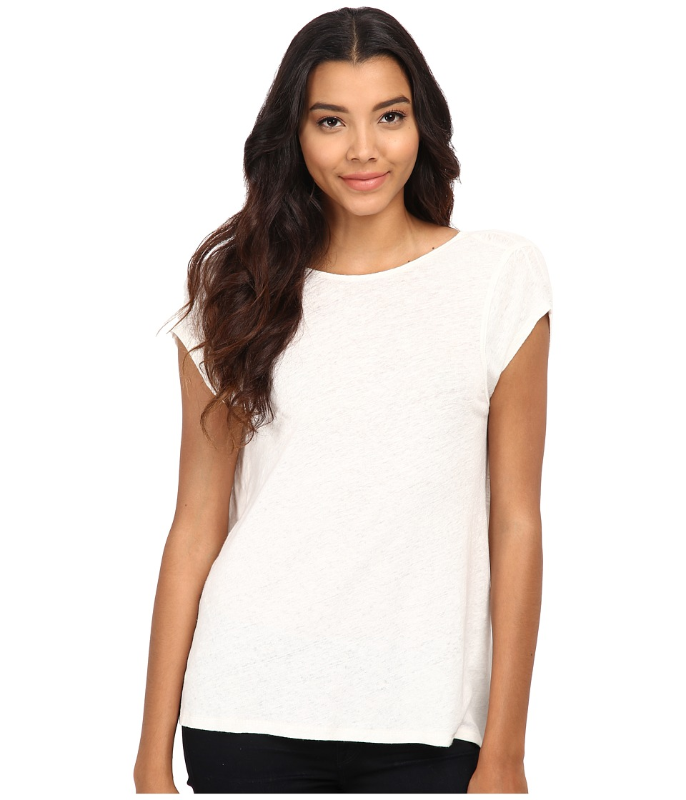 Free People - Slub Prairie Tee (Shell) Women's T Shirt