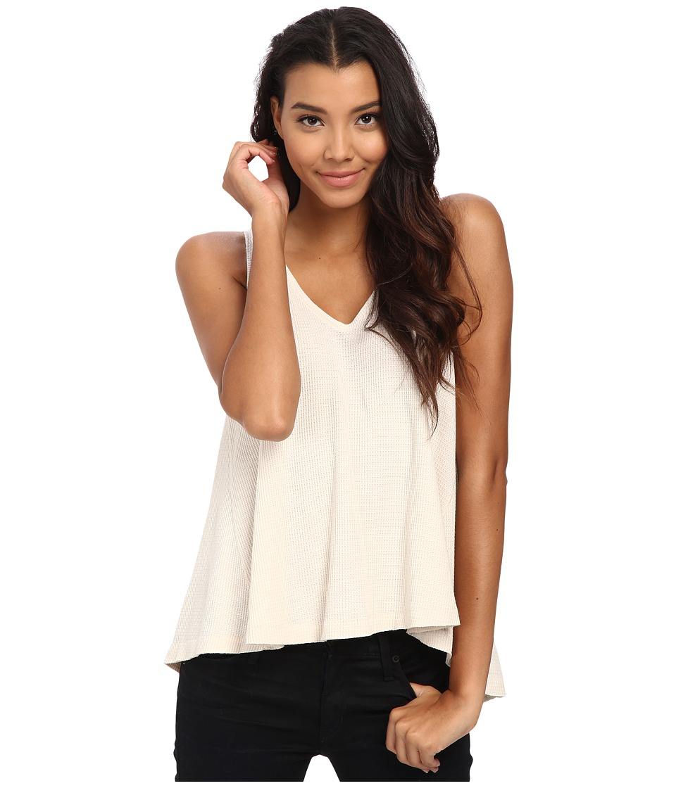 Free People - Kitten Tank Top (Cream) Women's Sleeveless