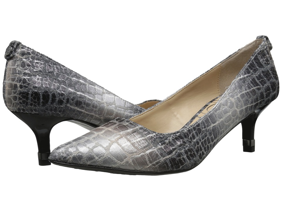 J. Renee - Braidy (Pewter) Women's 1-2 inch heel Shoes