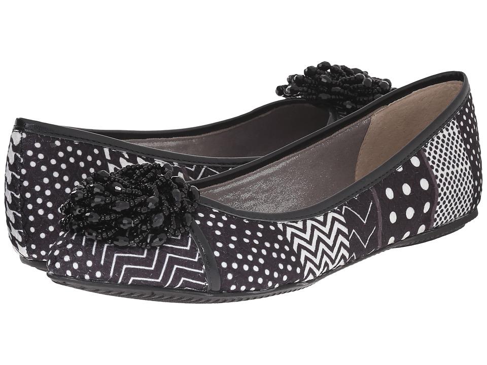 J. Renee - Geezel (Black/White) High Heels