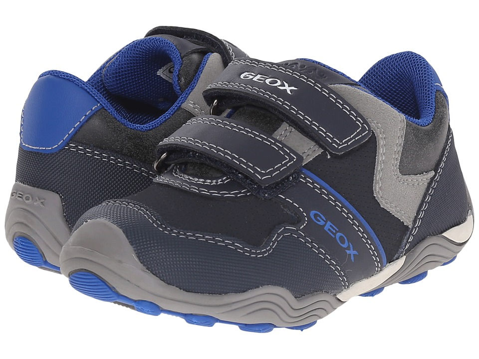 Geox Kids - Jr Arno 13 (Toddler/Little Kid) (Navy/Royal) Boys Shoes