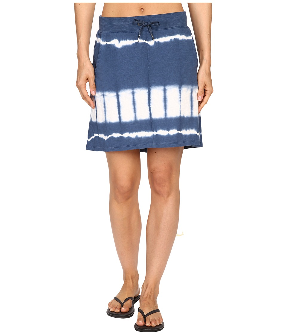 Mountain Khakis - Solitude Skirt (Midnight Blue Tie-Dye) Women's Skirt
