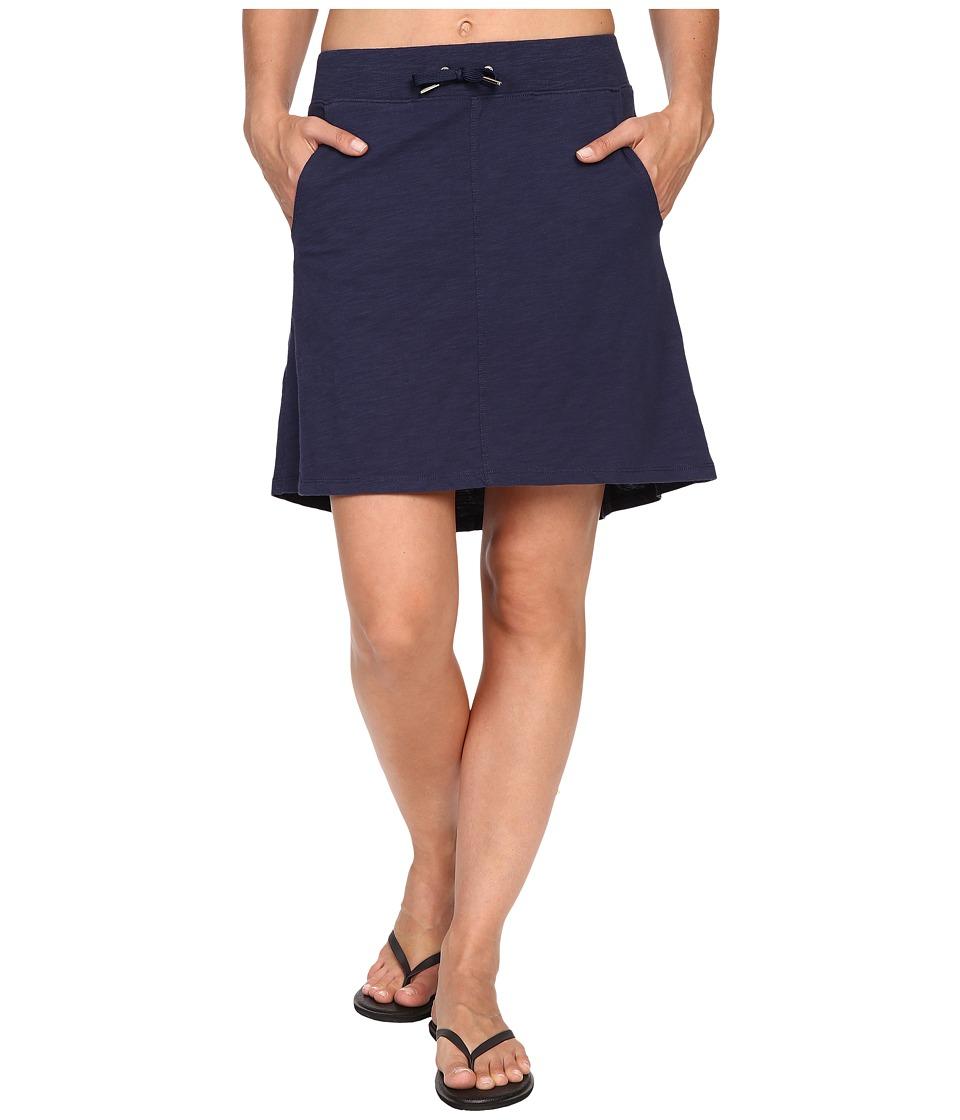 Mountain Khakis - Solitude Skirt (Midnight Blue) Women's Skirt