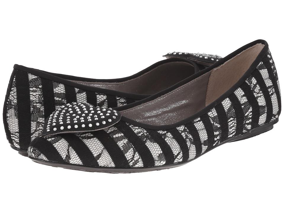 J. Renee - Avary (Black/White) Women's Shoes