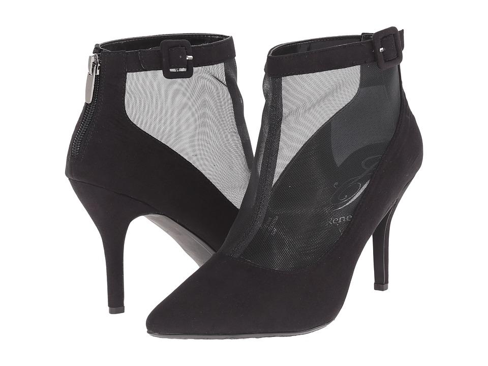 J. Renee - Haldana (Black Suede) Women's Shoes