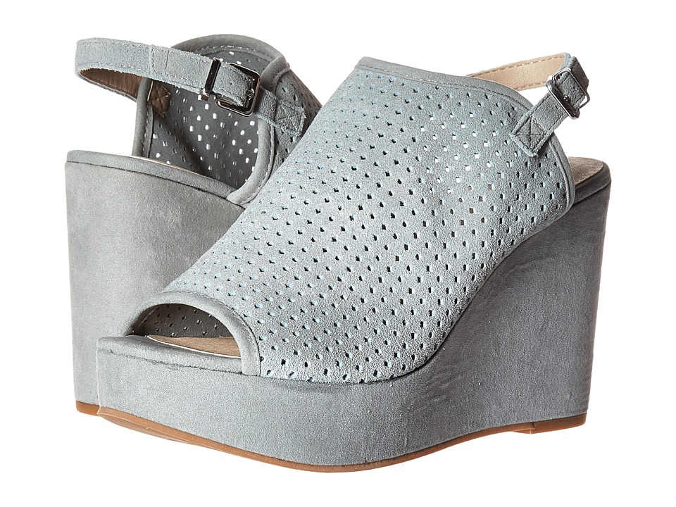 Seychelles - Landscape (Light Blue Suede) Women's Wedge Shoes
