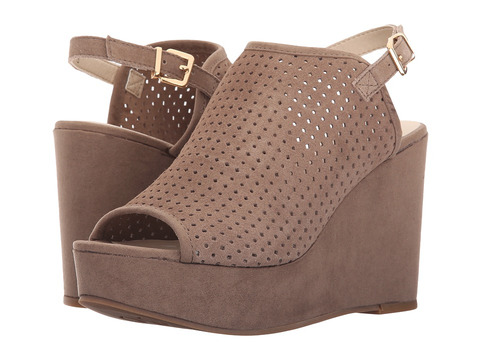 Seychelles - Landscape (Taupe Suede) Women's Wedge Shoes