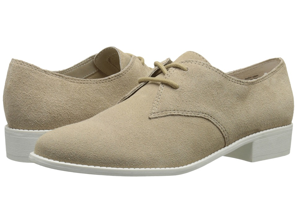 Seychelles - With Honor (Natural Suede) Women's Slip on Shoes