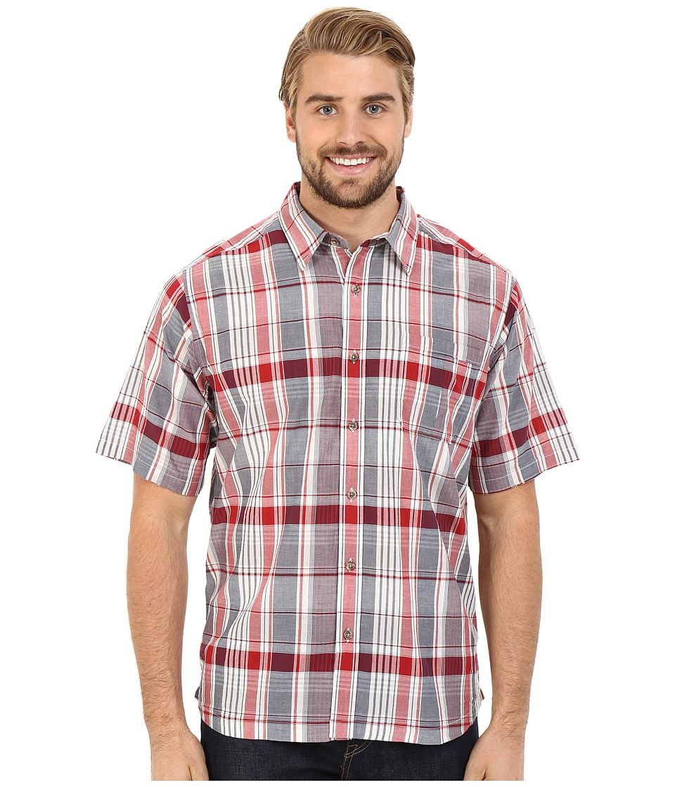 Mountain Khakis - Tomahawk Madras Shirt (Cardinal Multi) Men's T Shirt