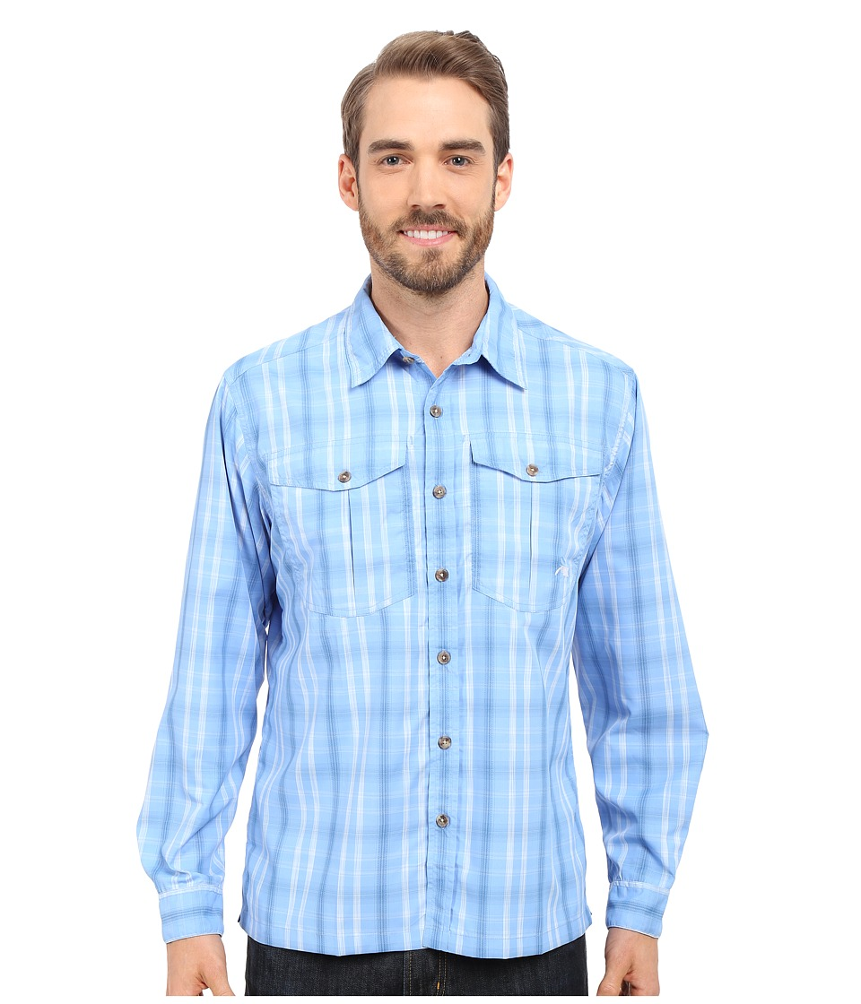 Mountain Khakis Equatorial L-S Shirt Blue Note Mens Long Sleeve Button Up