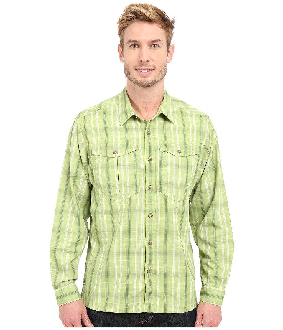 Mountain Khakis - Equatorial L/S Shirt (Sour Apple) Men's Long Sleeve Button Up