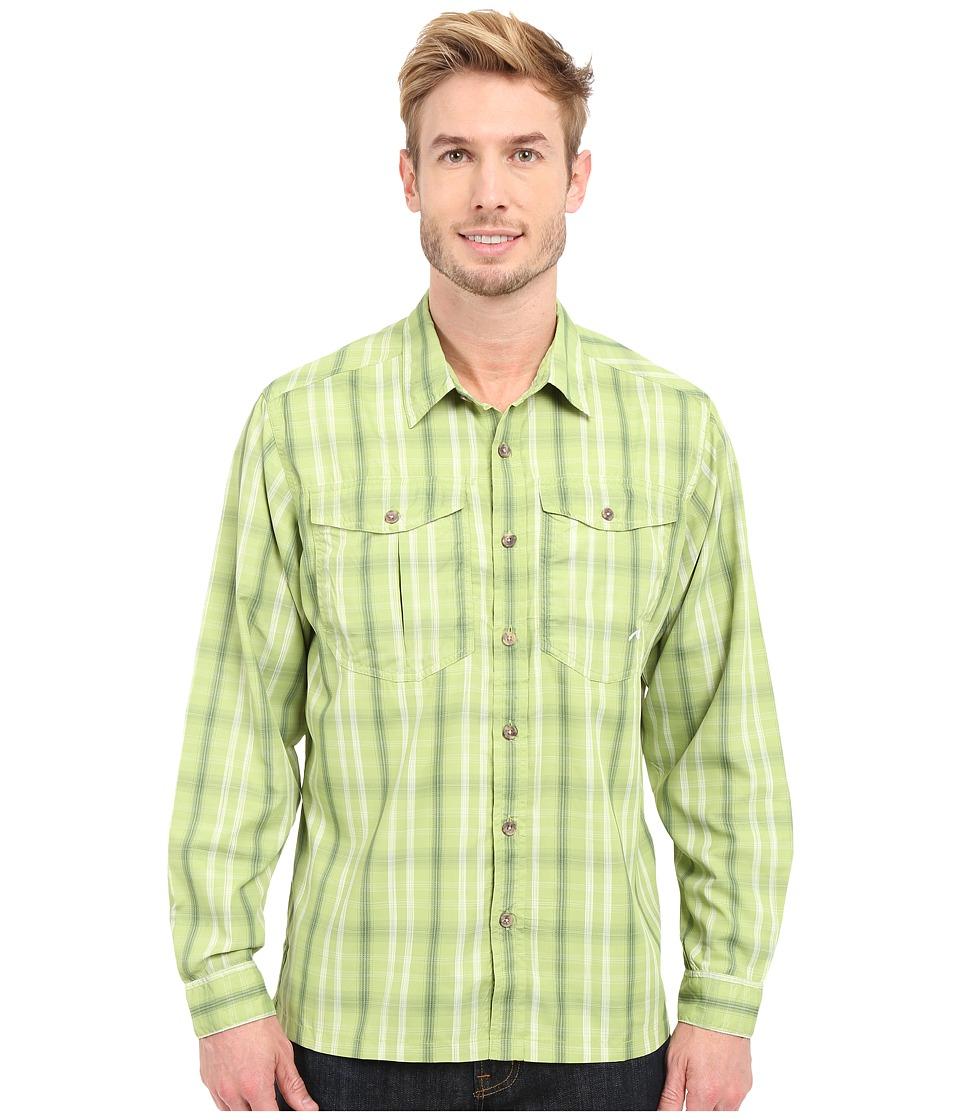 Mountain Khakis - Equatorial L/S Shirt (Sour Apple) Men's Long Sleeve Button Up
