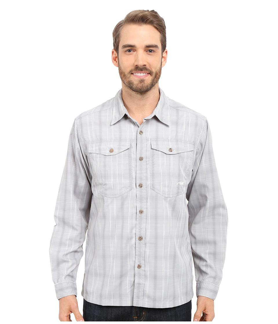 Mountain Khakis - Equatorial L/S Shirt (City Block) Men's Long Sleeve Button Up