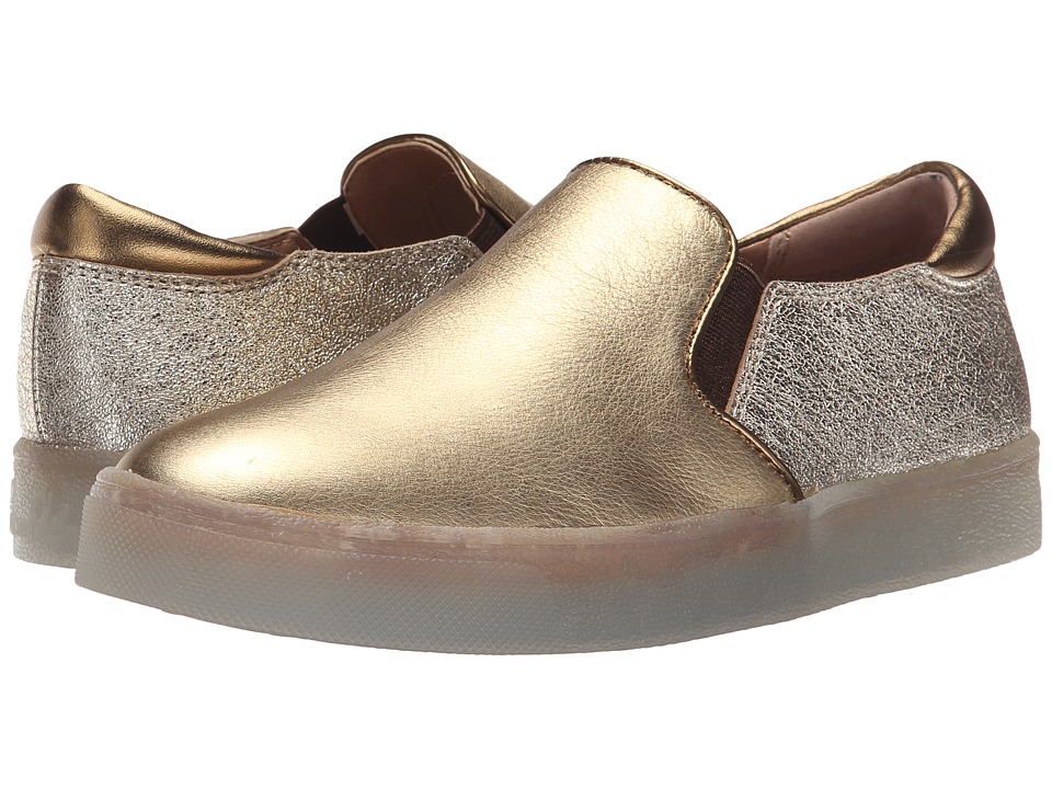 Sam Edelman - Miles (Dark Gold/Platino Metallic Leather) Women