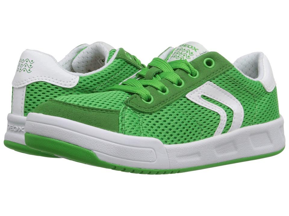 Geox Kids - Jr Rolk Boy 3 (Little Kid/Big Kid) (Green) Boy's Shoes