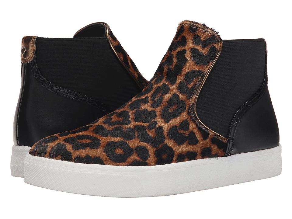 Sam Edelman - Margot (Brown/Black Sahara Leopard Brahma Hair/Oily Velour Suede) Women's 1-2 inch heel Shoes