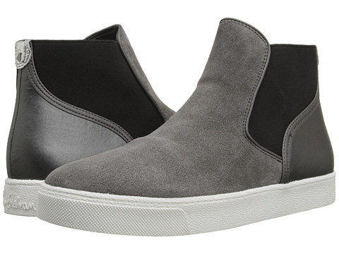 Sam Edelman - Margot (Steel Grey/Sterling Oily Velour Suede Leather/Sport Nylon) Women