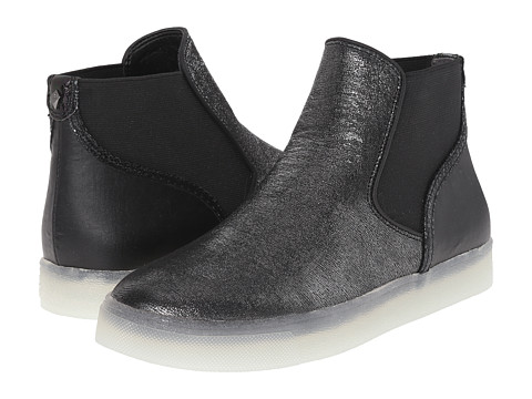 Sam Edelman - Margot (Pewter/Black Rasputin Leather/Sport Nylon) Women's 1-2 inch heel Shoes