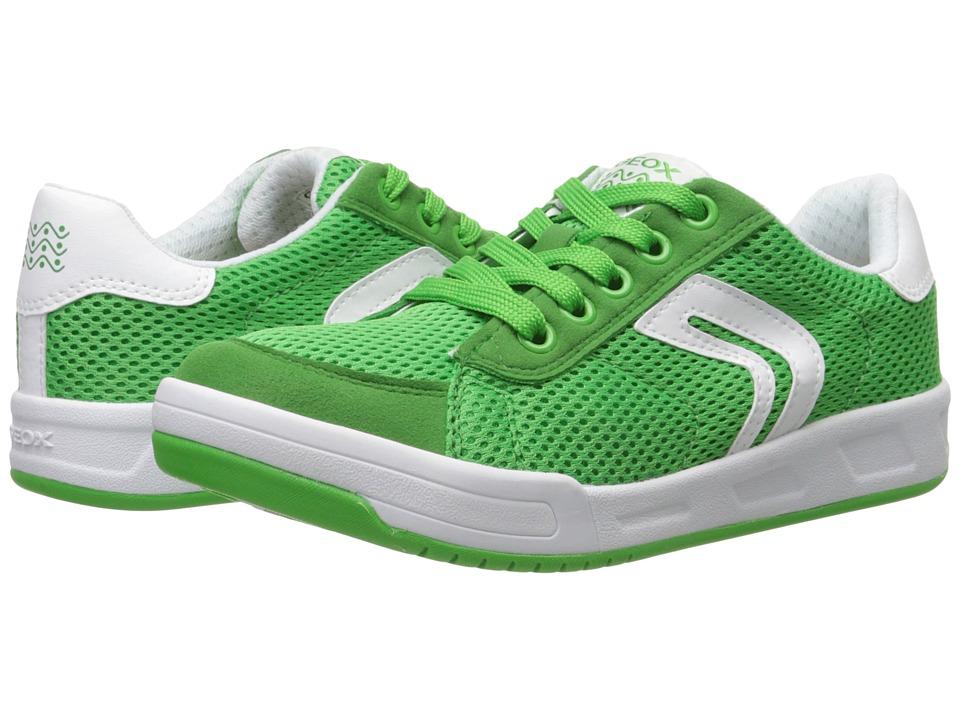 Geox Kids - Jr Rolk Boy 3 (Big Kid) (Green) Boy's Shoes