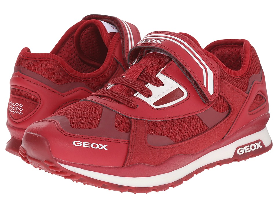 Geox Kids - Jr Pavel 11 (Big Kid) (Red) Boy's Shoes