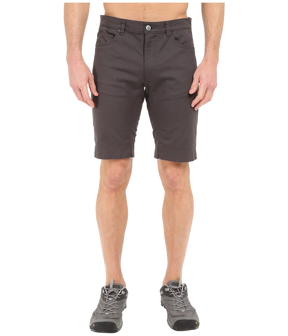 Black Diamond - Stretch Font Shorts (Slate) Men's Shorts