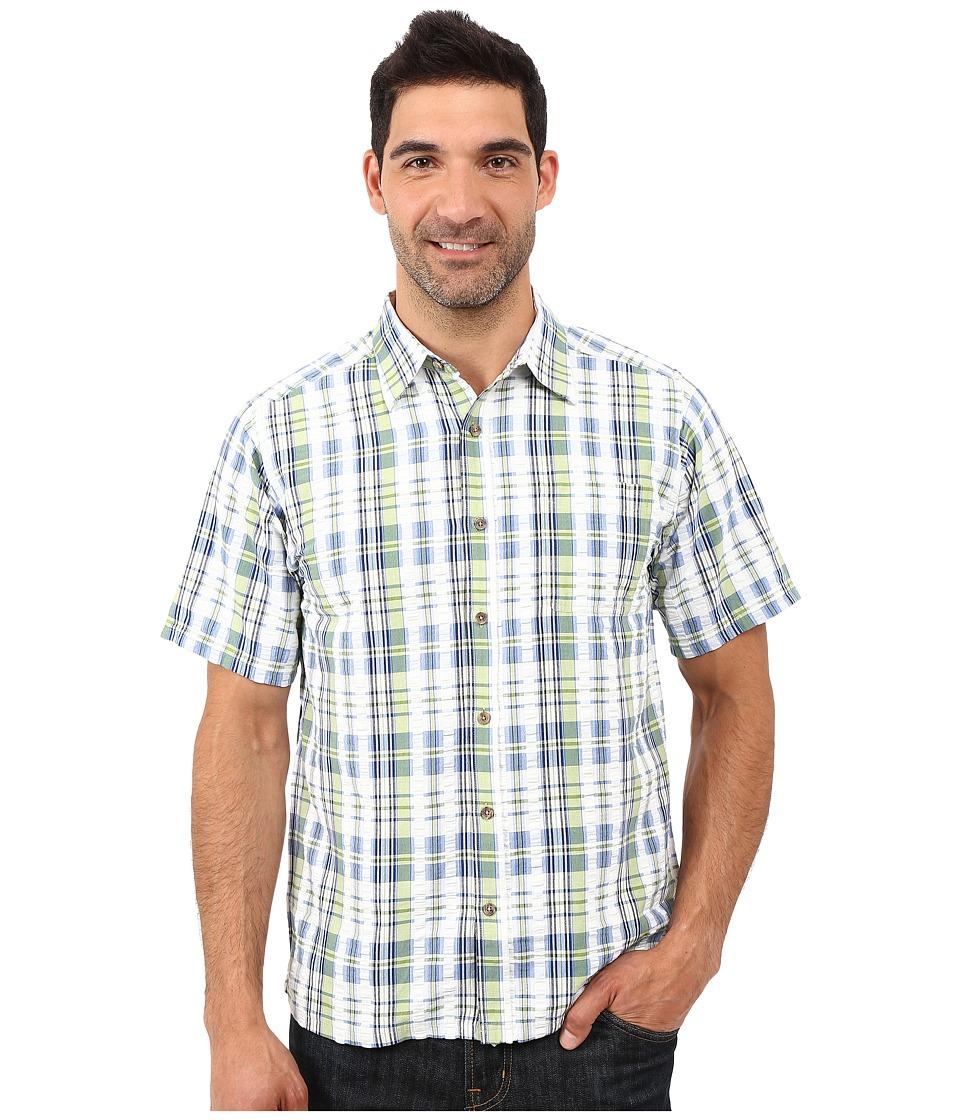 Mountain Khakis Crags EC Crinkle Short Sleeve Shirt (Sour Apple) Men