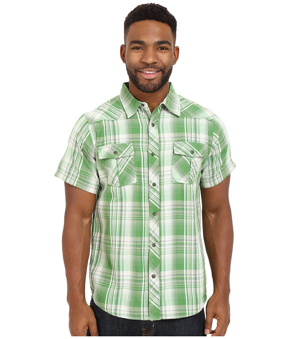 Mountain Khakis - Rodeo Short Sleeve Shirt (Wild Grass) Men's Clothing